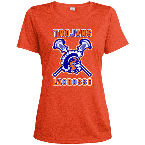 James Island LACROSSE Ladies' Heather Dri-Fit T-Shirt - Sports Parent Gear