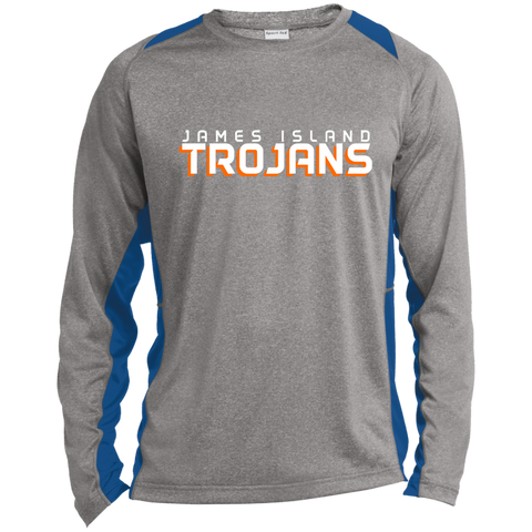 James Island Trojans-Performance Long Sleeve T-Shirt - Sports Parent Gear