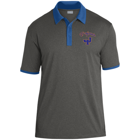 James Island Trojans-Heather Contender Polo - Sports Parent Gear