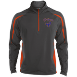 James Island Trojans-Men's Colorblock 1/2 Zip - Sports Parent Gear