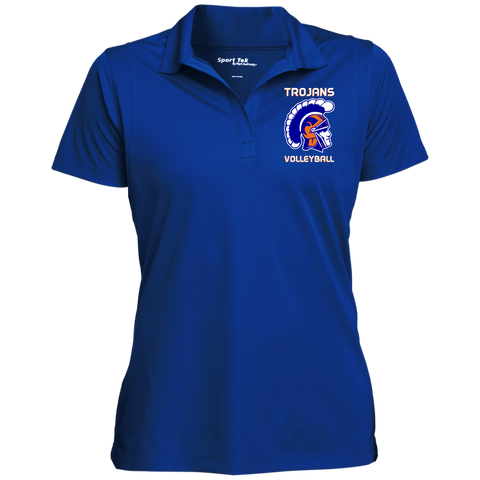 James Island Trojans HELMET A-VOLLEYBALL Women's Micropique Polo - Sports Parent Gear
