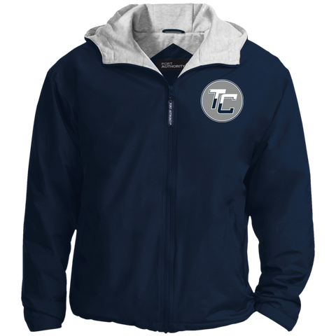 Team Coastal - Embroidered Nylon Jacket - Sports Parent Gear