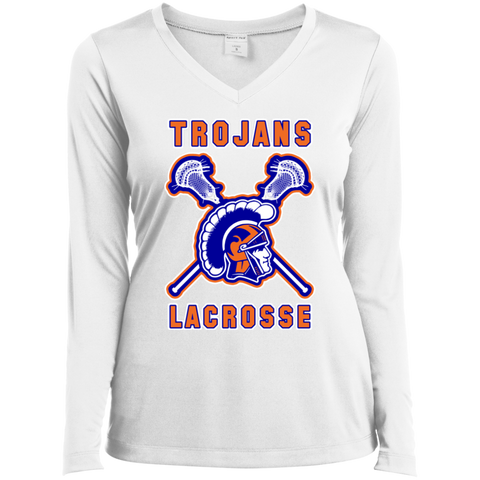 James Island LACROSSE Ladies' LS Performance T-Shirt - Sports Parent Gear