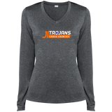James Island Trojans CROSS COUNTRY-Ladies' Performance LS T-Shirt - Sports Parent Gear