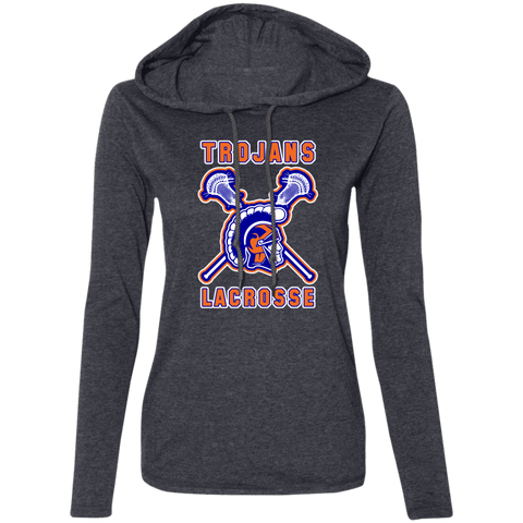 James Island LACROSSE Ladies' LS T-Shirt Hoodie - Sports Parent Gear