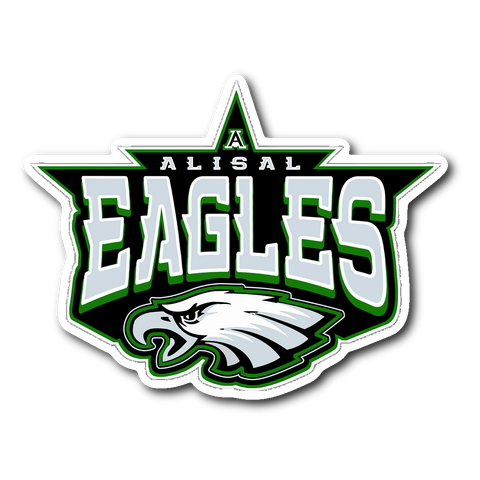 Alisal Eagles Sticker - Sports Parent Gear