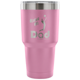 30 oz HITTER DAD Tumbler-Black (Personalized) - Sports Parent Gear
