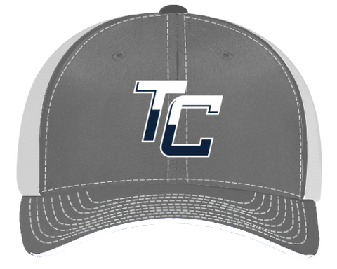 Team Coastal Lacrosse - Trucker Hat Grey/Blue - Sports Parent Gear