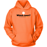 Unisex Hoodie-Which Court? - Sports Parent Gear