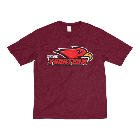 YourTeam-Men's Heather Dri-Fit Tee - Sports Parent Gear