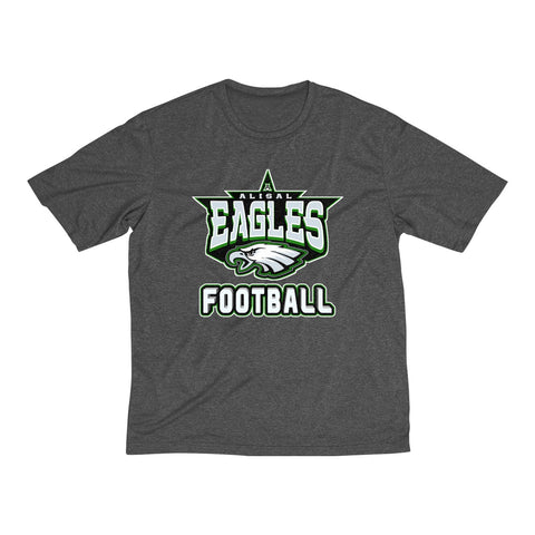 Alisal Eagles Football Heather Dri-Fit T-Shirt (Men's) - Sports Parent Gear