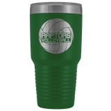 AMHS RAPTORS VOLLEYBALL INSULATED TUMBLER (30OZ) - Sports Parent Gear
