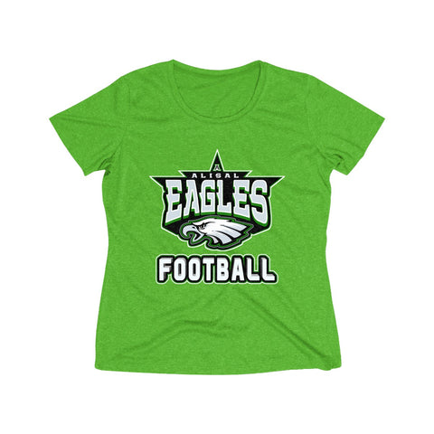 Alisal Eagles Football Heather Dri-Fit T-Shirt (Women's) - Sports Parent Gear