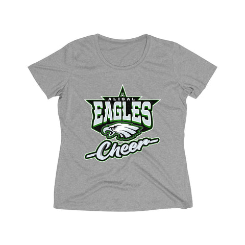 Alisal Eagles Cheer Heather Dri-Fit T-Shirt (Women's) - Sports Parent Gear