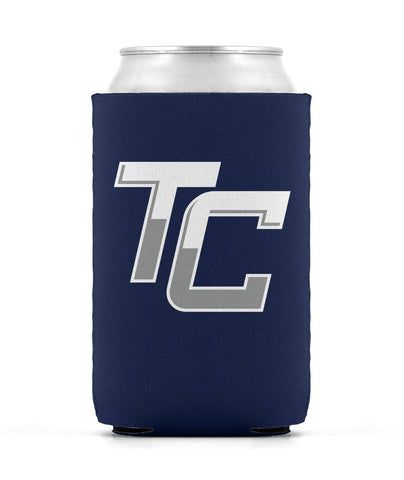 Team Coastal Lacrosse - Foam Can Koozie (Blue) - Sports Parent Gear