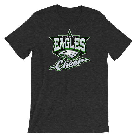 Alisal Eagles Cheer Short-Sleeve T-Shirt (Unisex) - Sports Parent Gear