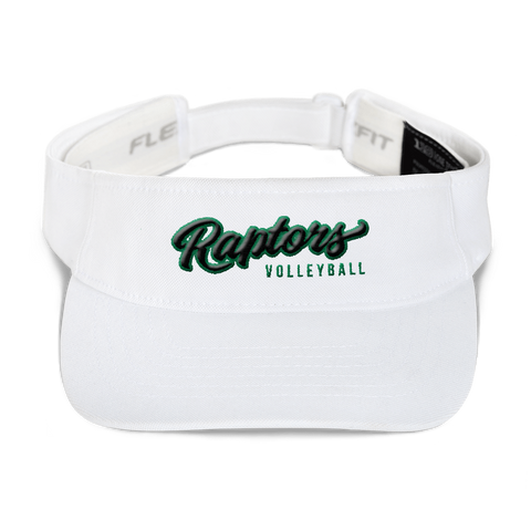 AMHS Raptors Visor (White) - Sports Parent Gear