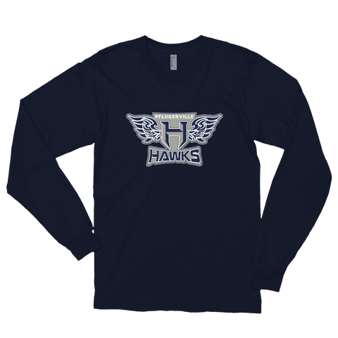 Pflugerville Hawks Long sleeve T-shirt - Sports Parent Gear