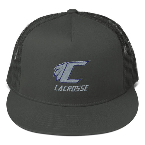 Cusabo Nation Lacrosse - Mesh Back Snapback - Sports Parent Gear