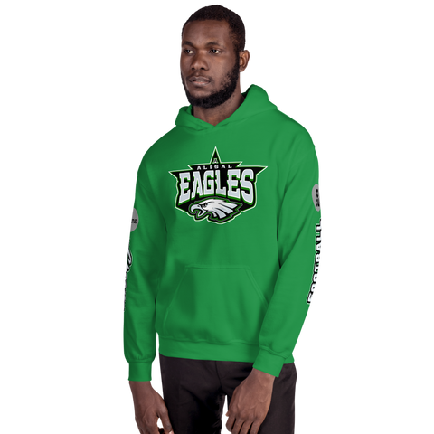 Alisal Eagles Customizable Hoodie (Football & Cheer) - Sports Parent Gear