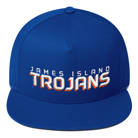 James Island Trojans-Flat Bill Snapback - Sports Parent Gear