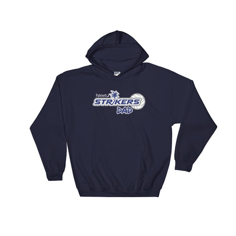 Hoodie-Palmetto Strikers Dad - Sports Parent Gear