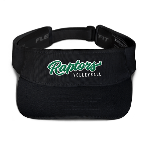AMHS Raptors Visor (Black) - Sports Parent Gear