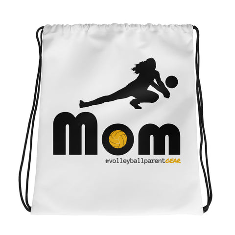 Drawstring bag - Defense/Libero Mom - Sports Parent Gear