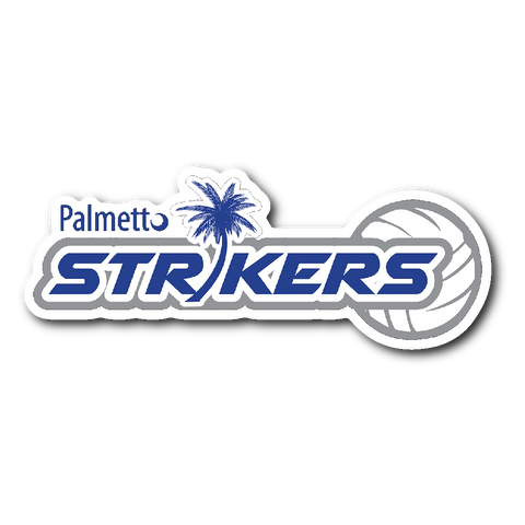 "Palmetto Strikers Sticker (2""x4"") - Sports Parent Gear"