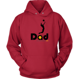 Hoodie-Hitter Dad - Sports Parent Gear