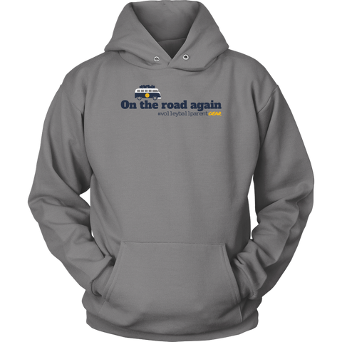Unisex Hoodie-On the road again (Light Colors) - Sports Parent Gear