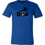 Men's T-Shirt-Cotton-Defense/Libero Dad - Sports Parent Gear