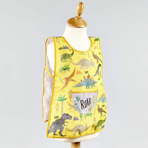 Floss and Rock dinosaur tabard apron