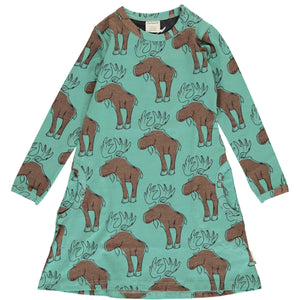 Maxomorra long sleeve dress mighty moose