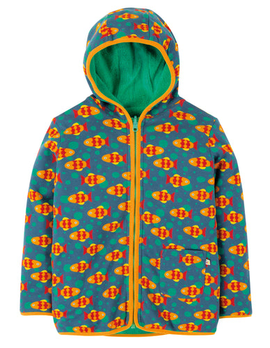 FRUGI spring reversible snuggle jacket koi joy