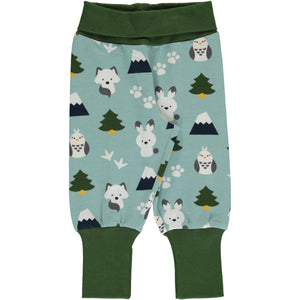 Maxomorra winter world rib pants joggers
