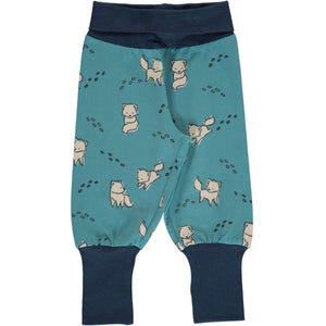 Maxomorra arctic fox rib pants joggers