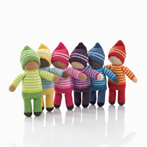 Best years knitted pixie soft toy