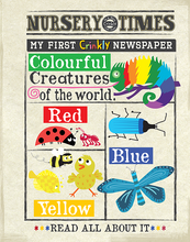 My first crinkly newspaper soft baby book