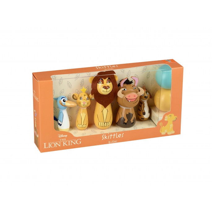 The lion king wooden skittles
