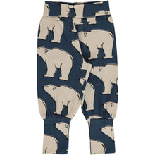 Maxomorra polar bear rib pants joggers