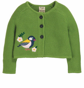 Frugi Annie applique Cardigan
