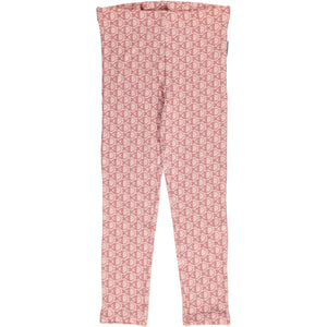 Maxomorra leggings fish pink