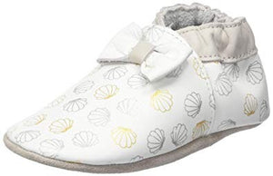 Robeez seashell soft sole shoes leather slippers