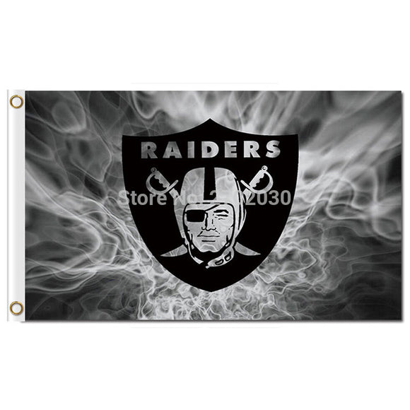 Oakland Raiders Super Bowl Champions Flag Custom World Series 2016 New 3ft X 5ft Premium Team Oakland Raiders Banner