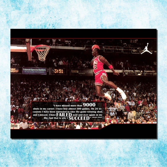 Michael Jordan Shoes MJ 23 Chicago Bulls NBA MVP Basketball Silk Canvas Poster 13x20 24x36inch Picture For Room Decor (more)-5