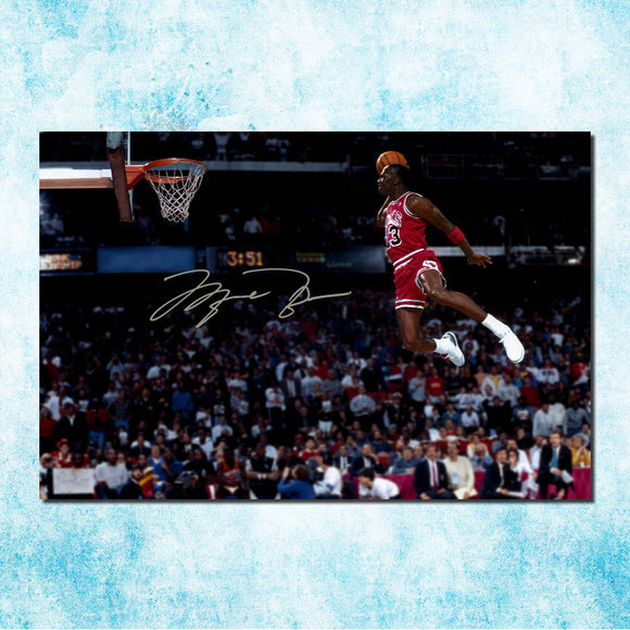 Michael Jordan Shoes MJ 23 Chicago Bulls NBA MVP Basketball Silk Canvas Poster 13x20 24x36inch Picture For Room Decor (more)-4