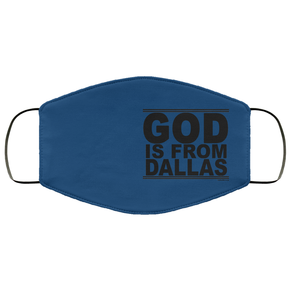 #GodIsFromDallas - Face Mask