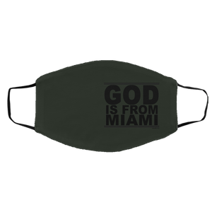 #GodIsFromMiami - Face Mask