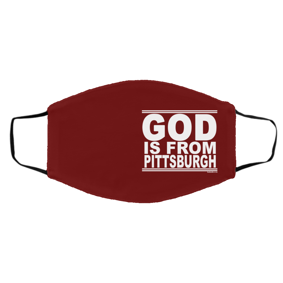 #GodIsFromPittsburgh - Face Mask